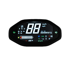 Blackberry LED Digital Speedometer