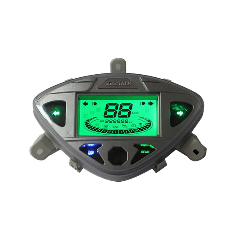 Positive Display LCD Speedometer